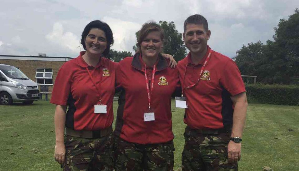 Sgt Bowen writes about her first day